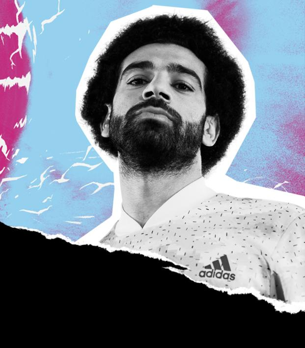 Mo Salah and the adidas X