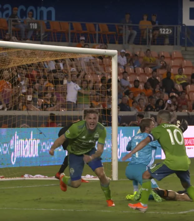 Jordan Morris Goal vs Houston Dynamo