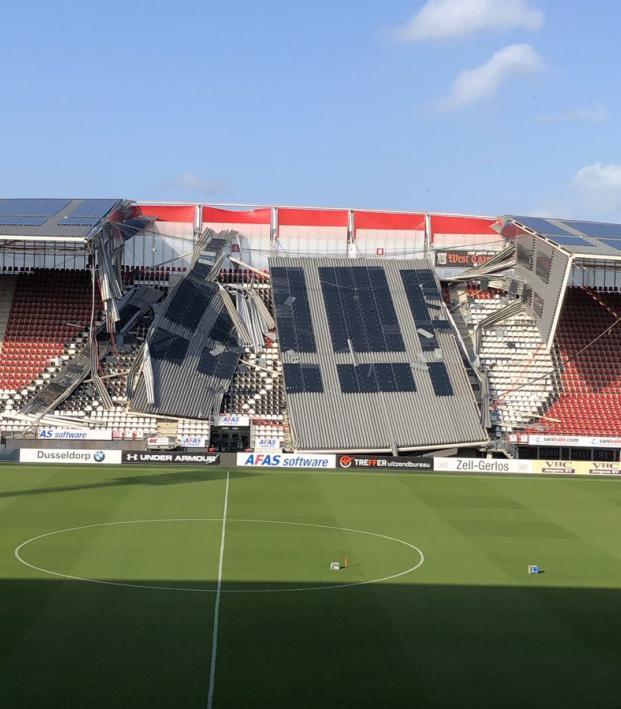AZ Alkmaar Stadium Collapse