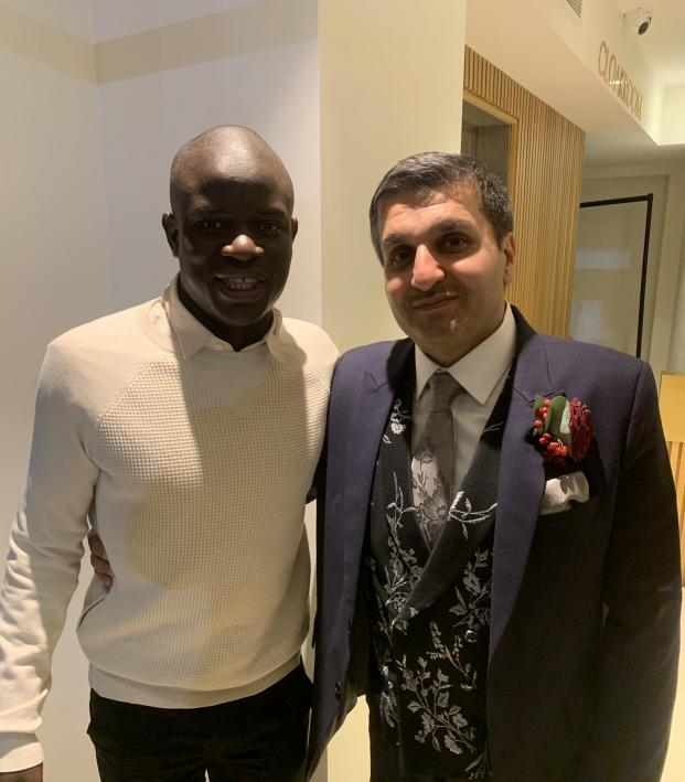 Nice Guy N'Golo Kanté Wedding Appearance Surprises Fan, Bride