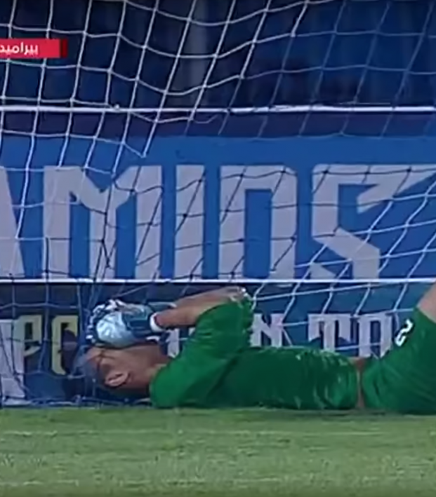 Egypt Goalie Save