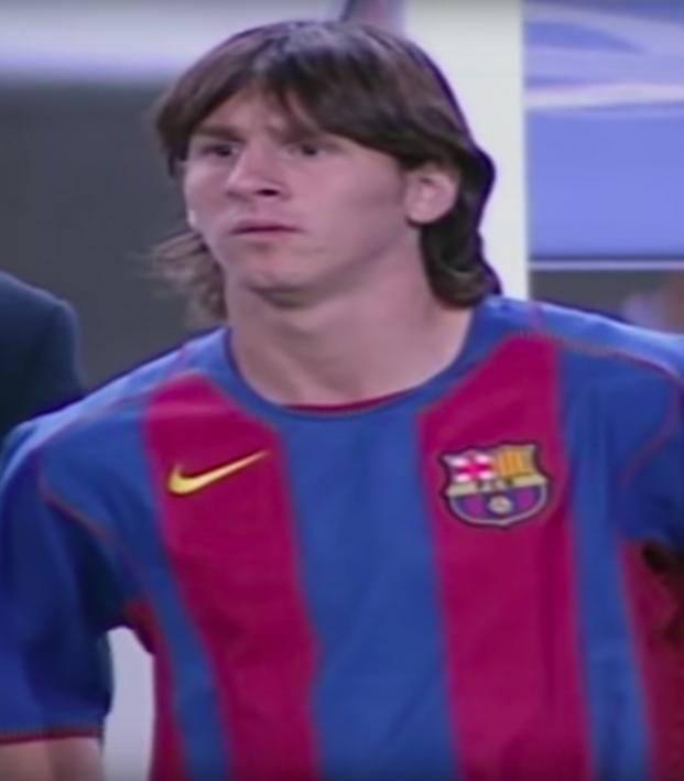 Lionel Messi Barcelona debut