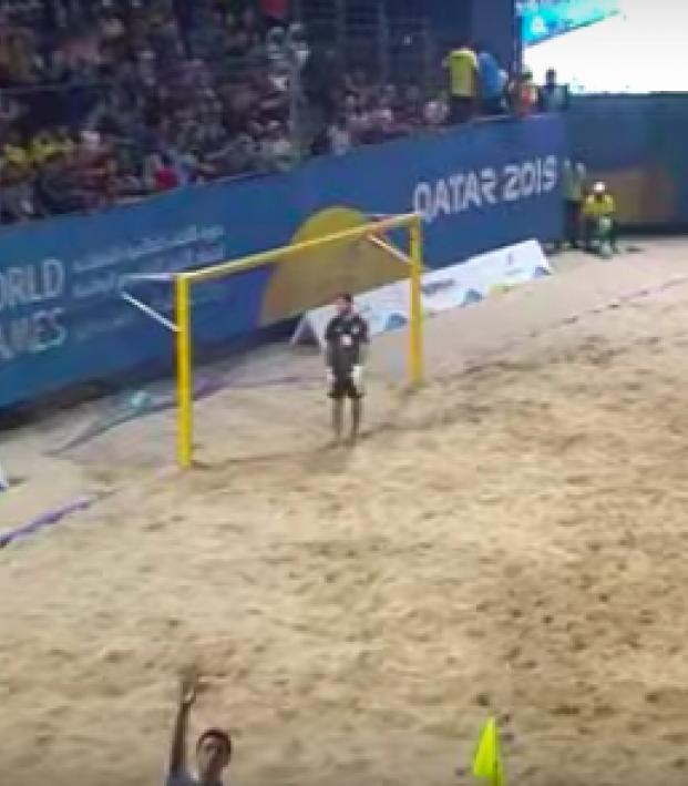 Brazil beach soccer