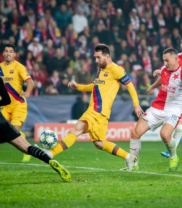 Slavia Praha vs Barcelona Highlights