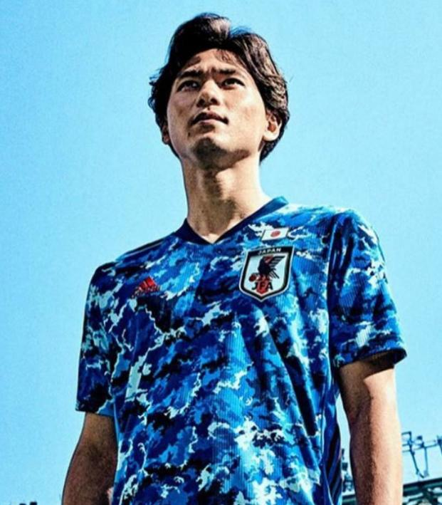 Japan Olympic soccer jersey