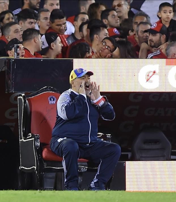 Diego Maradona Quits Gimnasia After Two Months On Job