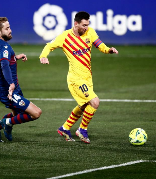 Ronaldo and Messi 2021