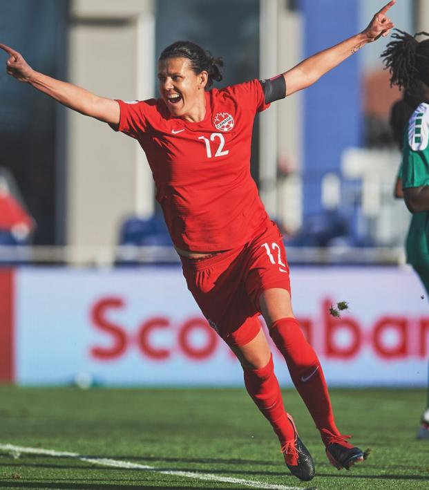 Most International Goals Christine Sinclair