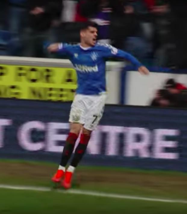 Ianis Hagi Rangers goal
