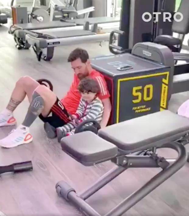 Lionel Messi Home Workout