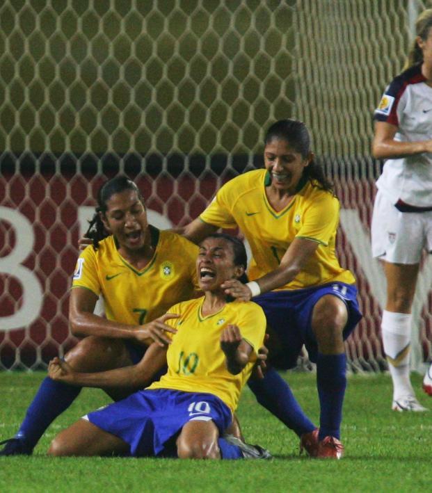 USWNT vs Brazil 2007