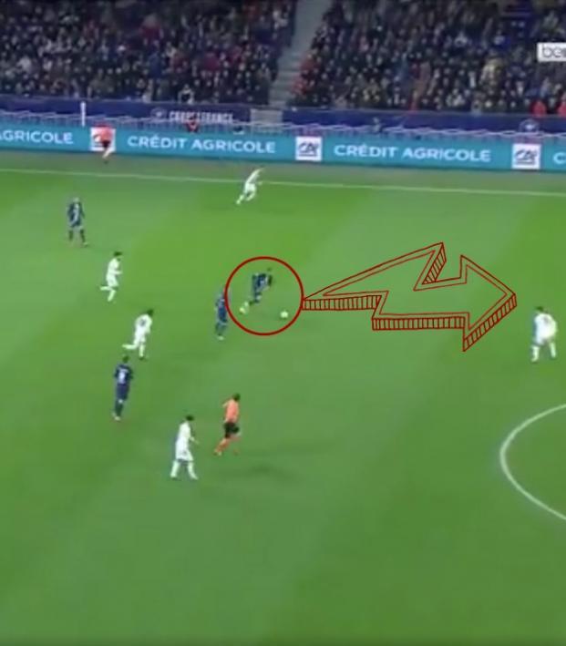 Kylian Mbappe goal vs Lyon
