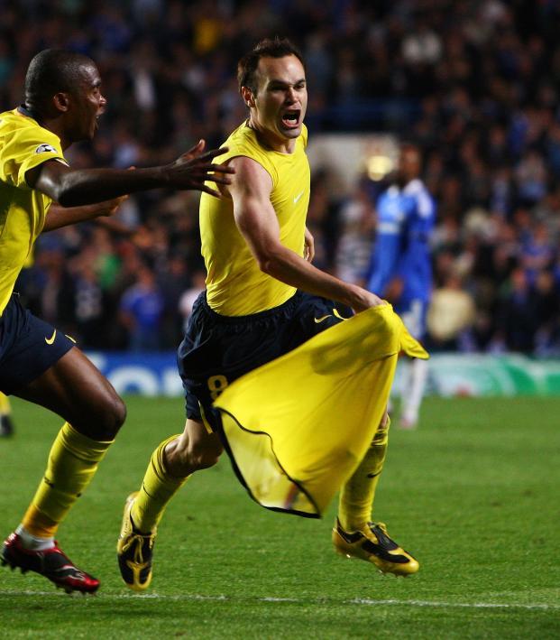 Andres Iniesta Goal vs Chelsea 2009