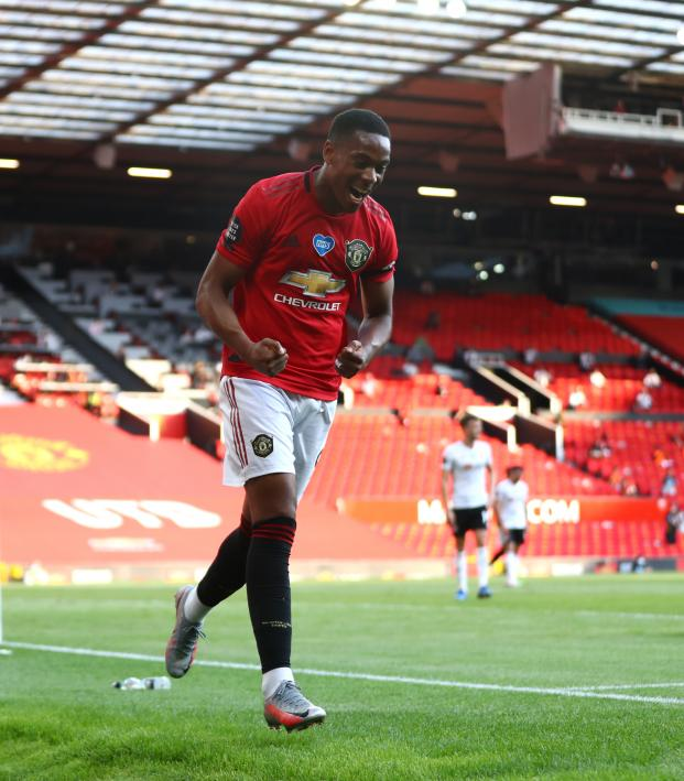 Anthony Martial Hat Trick