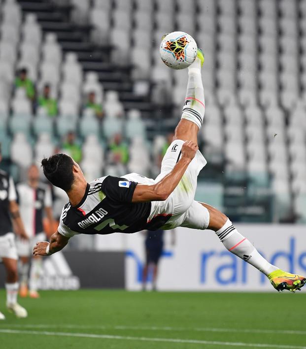 Cristiano Ronaldo vs Lecce