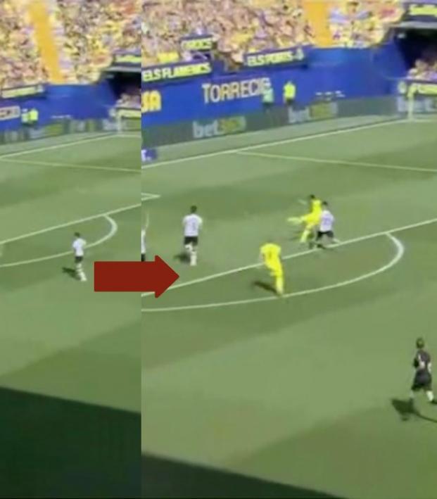 Gerard goal vs Valencia