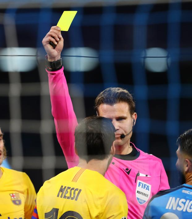 Champions League Yellow Card Rules