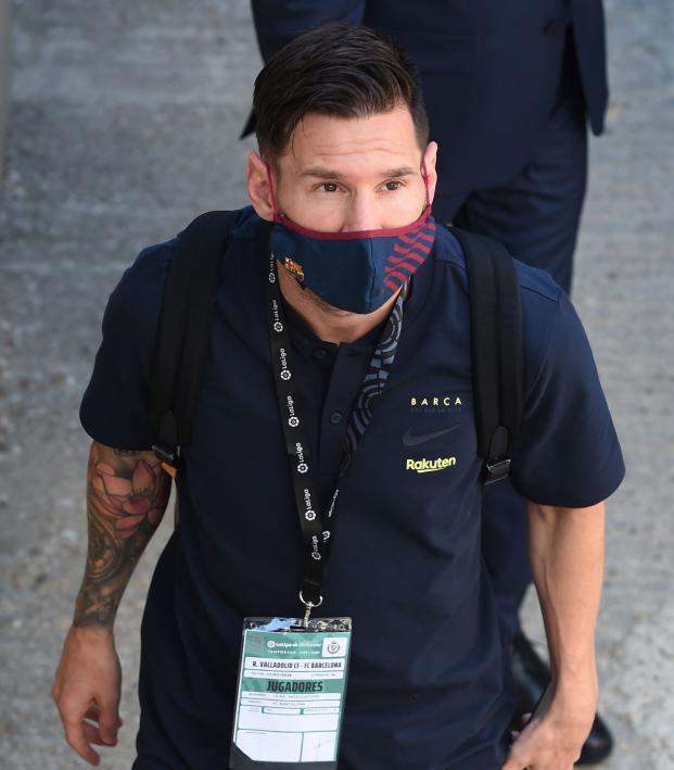 Messi Social Media