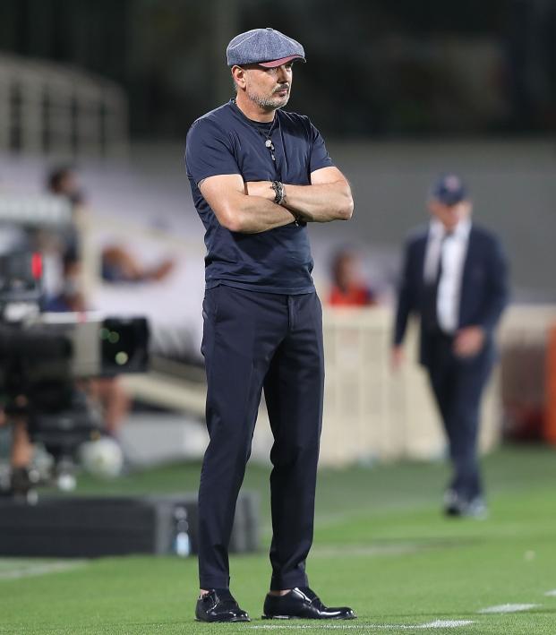 Bologna Coach Sinisa Mihajlovic