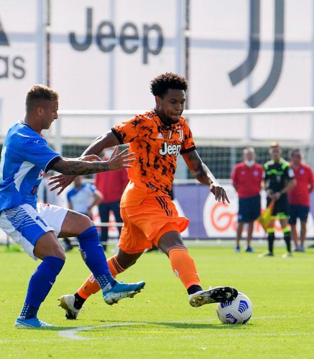 Weston McKennie Juventus debut