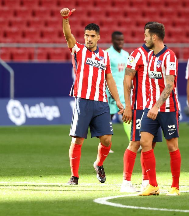 Luis Suárez Atletico Debut