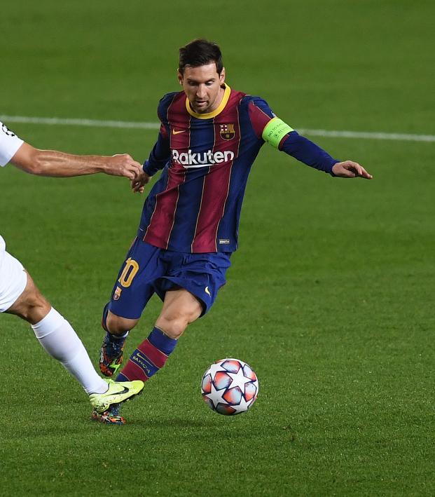Lionel Messi Champions League Record