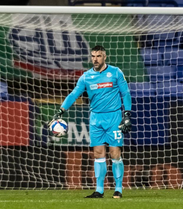 Bolton's Matt Gilks