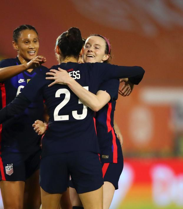 USWNT vs Netherlands Highlights Nov. 27, 2020