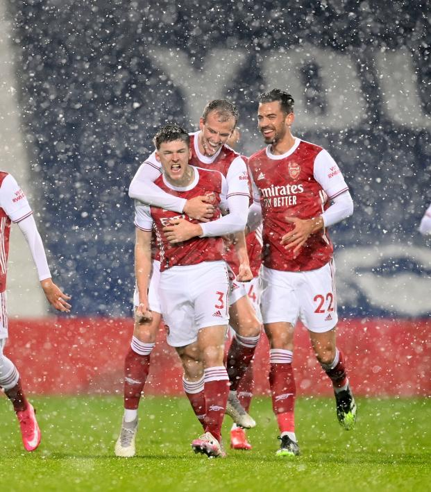 West Brom Vs Arsenal Highlights 4 Great Goals In The Snow