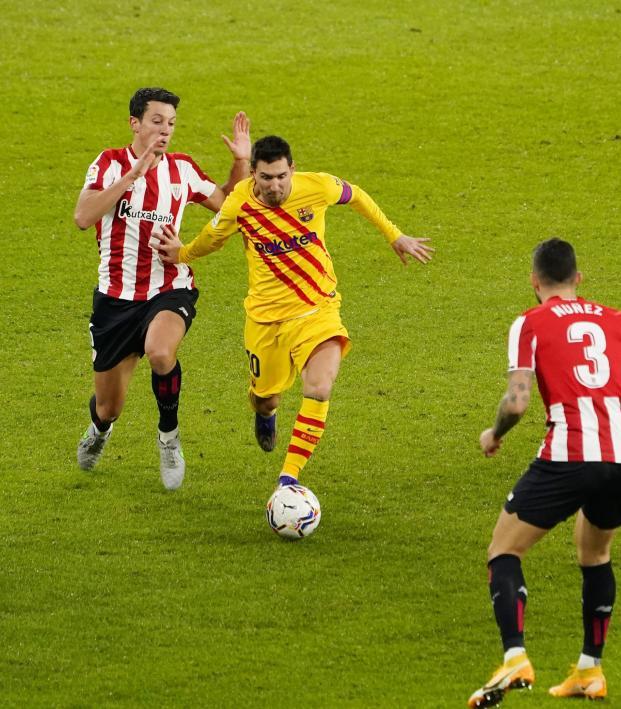Lionel Messi vs Athletic Club