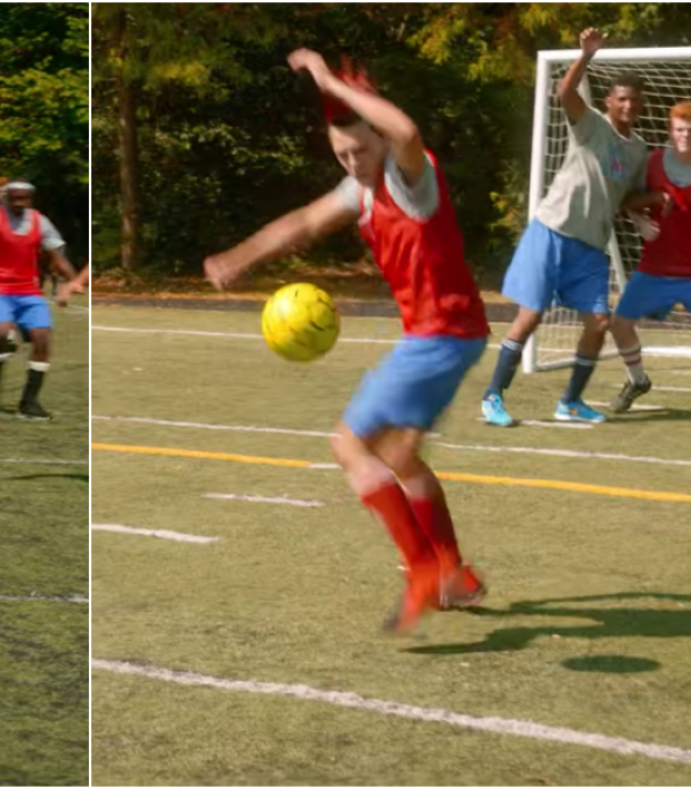 Cobra Kai Season 3 Soccer Scene