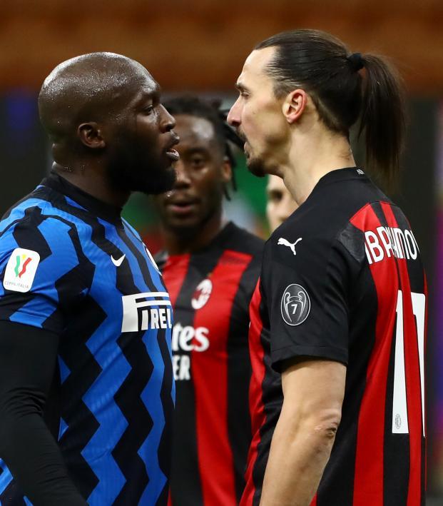 Zlatan vs Lukaku
