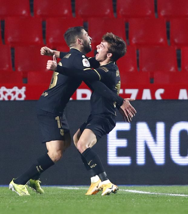 Granada vs Barcelona Copa Del Rey Highlights (Feb. 3, 2021)