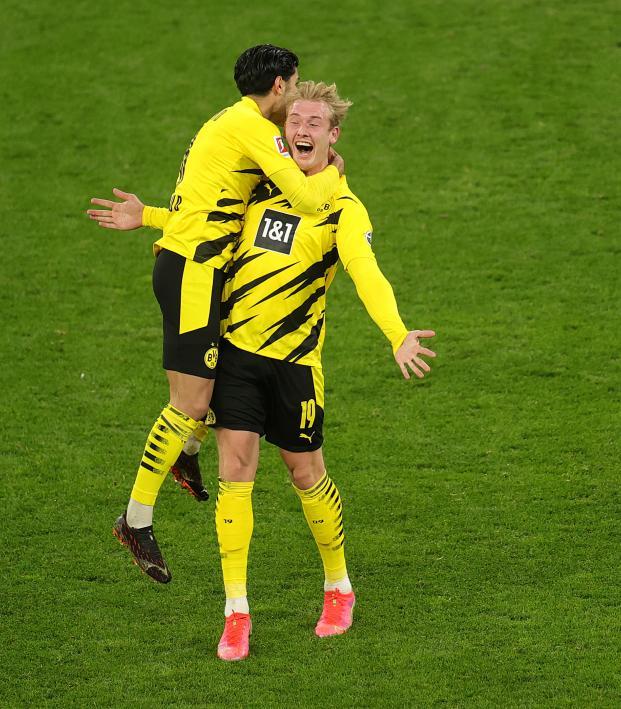 Julian Brandt Goal vs Hertha Berlin
