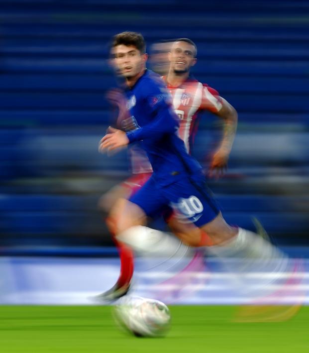 Christian Pulisic Assist vs Atlético Madrid