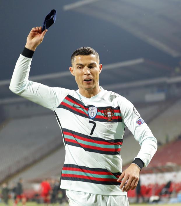 Cristiano Ronaldo vs Serbia