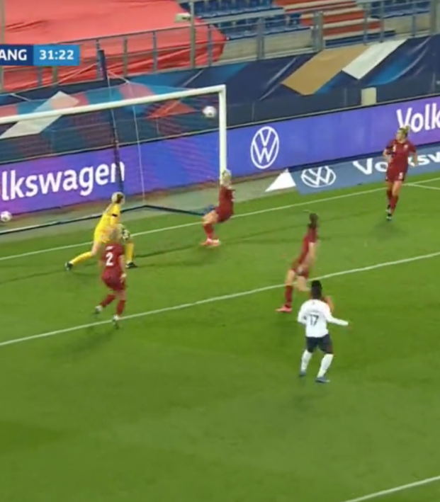 France vs England Women Highlights