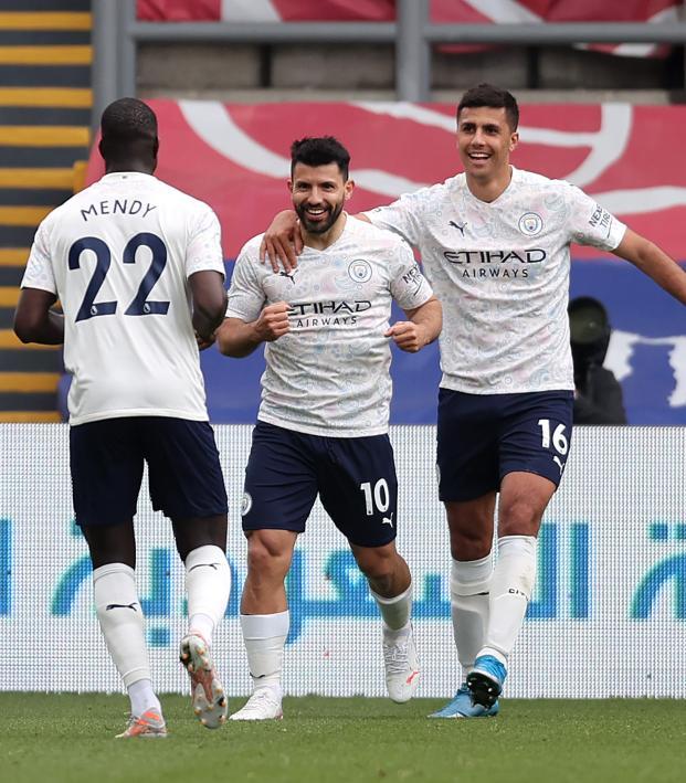 Sergio Agüero Goal vs Crystal Palace