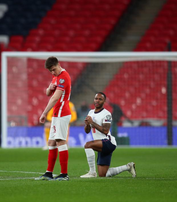 England Players Kneeling