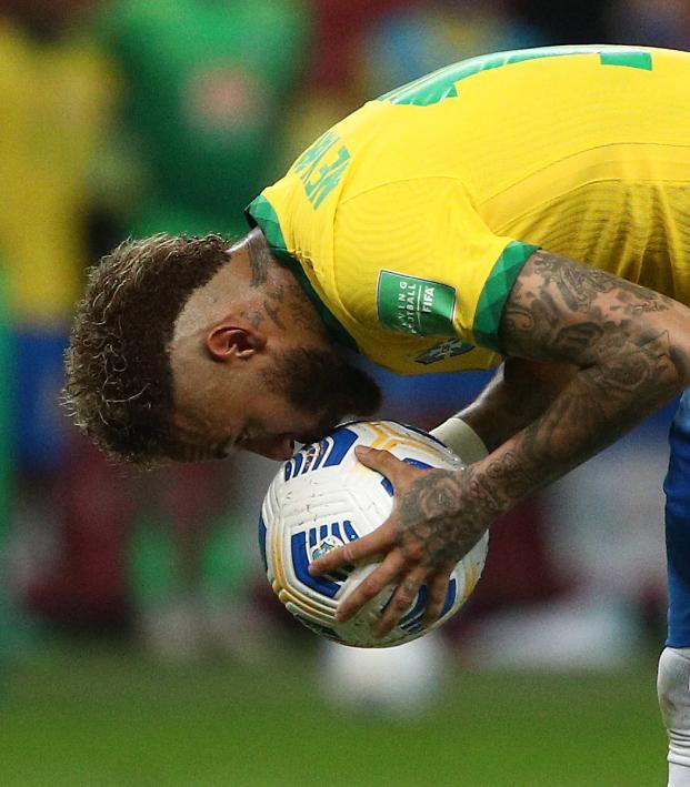 Neymar Penalty vs Ecuador