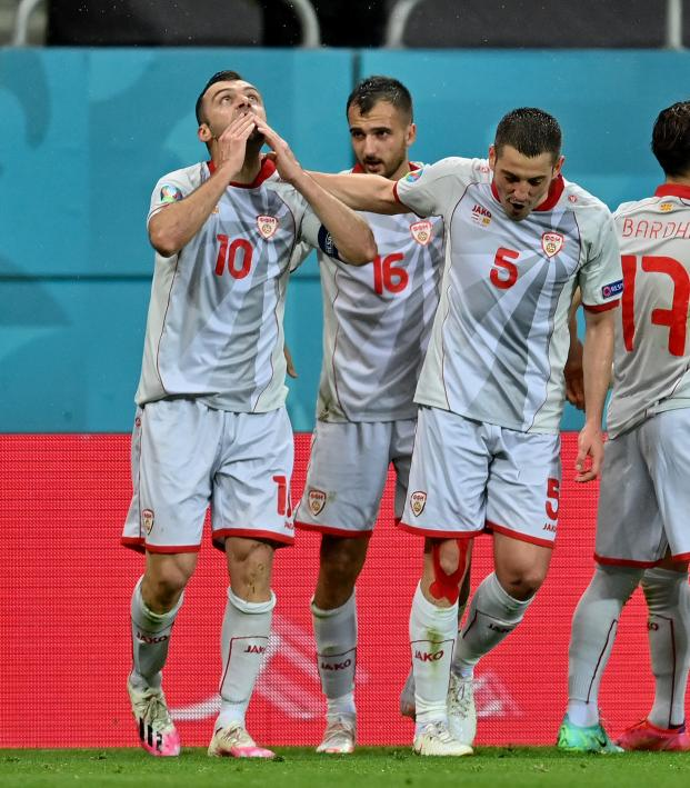 Pandev goal vs Austria