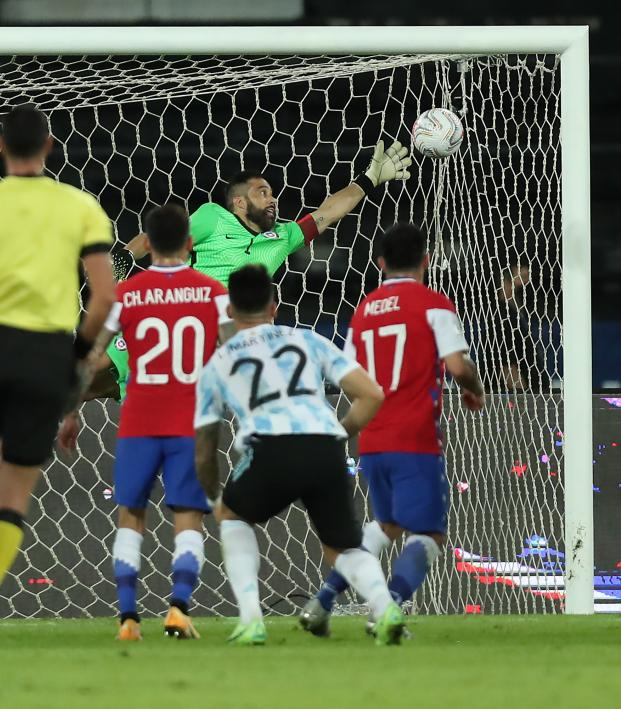 Lionel Messi Free Kick vs Chile