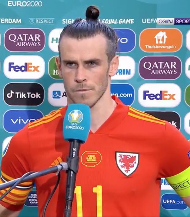Gareth Bale Interview After Denmark Game