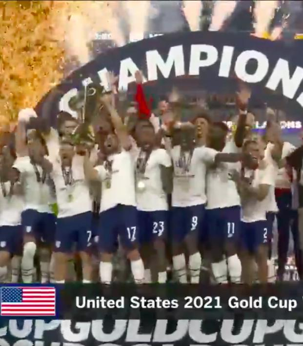 USA vs Mexico Gold Cup final highlights