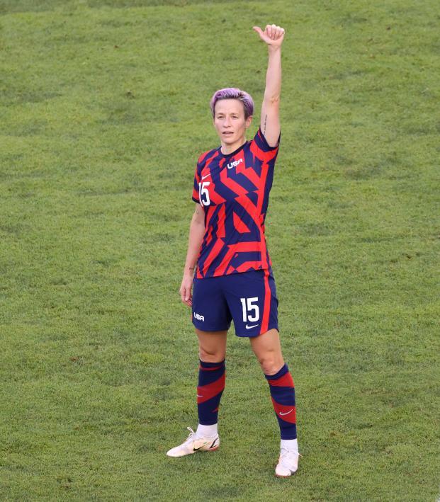 Megan Rapinoe Olimpico vs. Australia