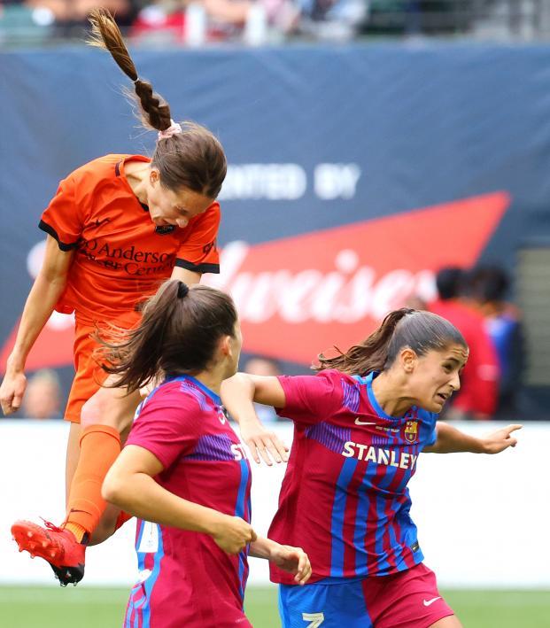 Houston Dash vs Barcelona Highlights