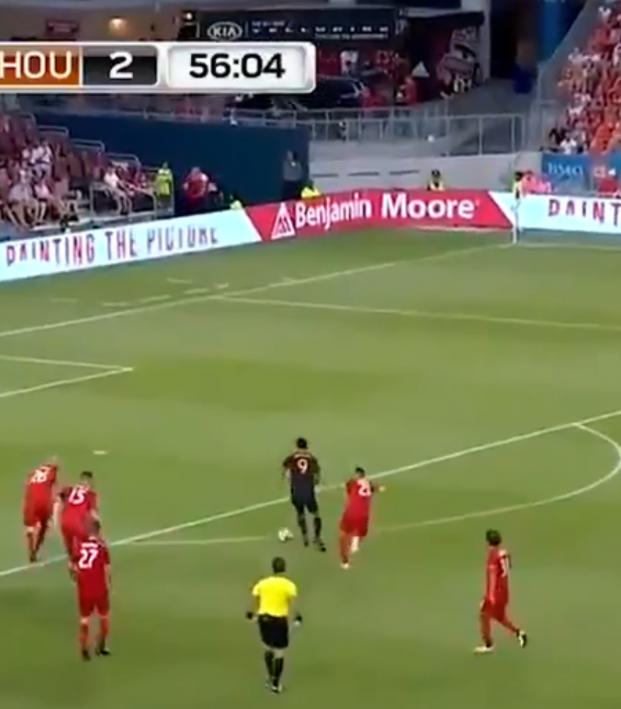 Mauro Manotas goal vs Toronto