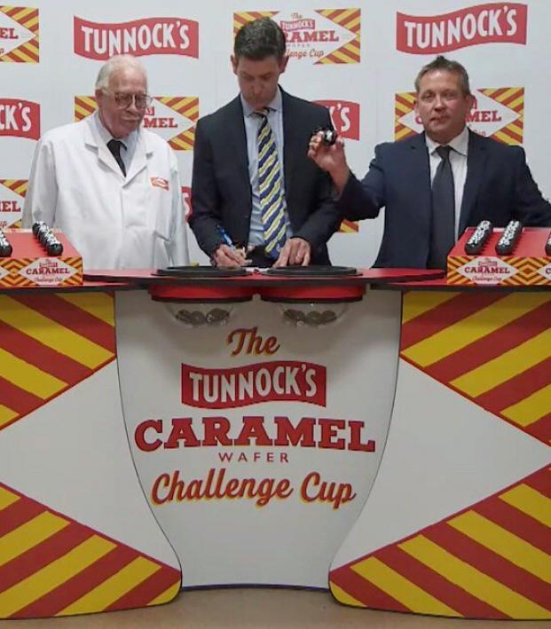 Tunnok's Caramel Wafer Challenge Cup