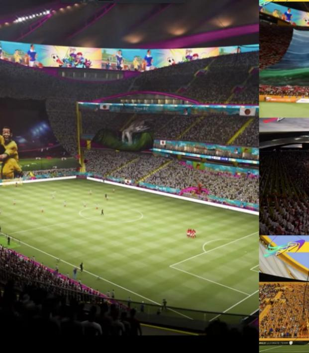 FIFA 21 build your own stadium