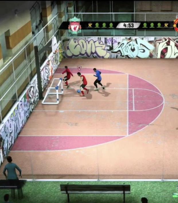 FIFA Street mode in FIFA 19